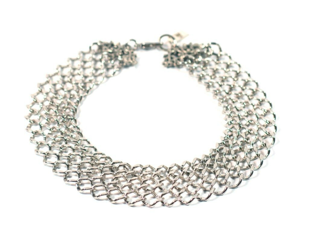 Pompadour Silver chains – French Bullevard