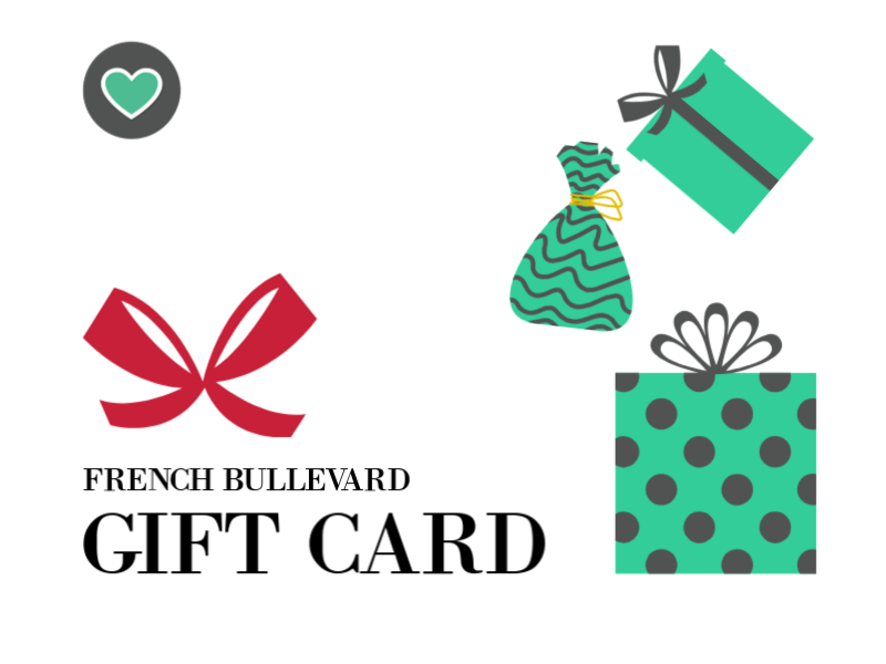 Frenchie boutique gift card