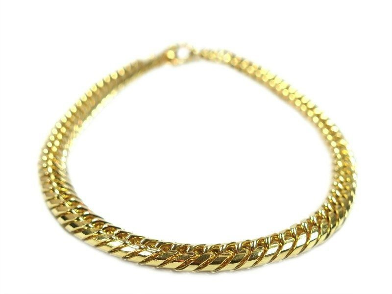 gold chain dog cuban style necklace bling