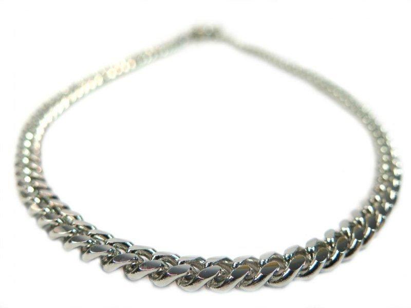 Dog silver chain