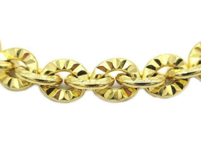 Gold dog chain