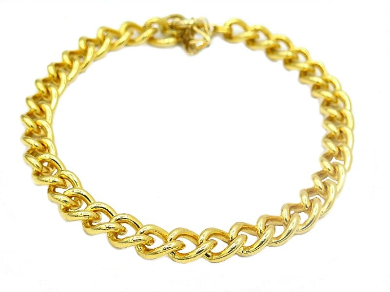 Brooklyn dog chain gold