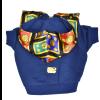 blue french bulldog hoodie