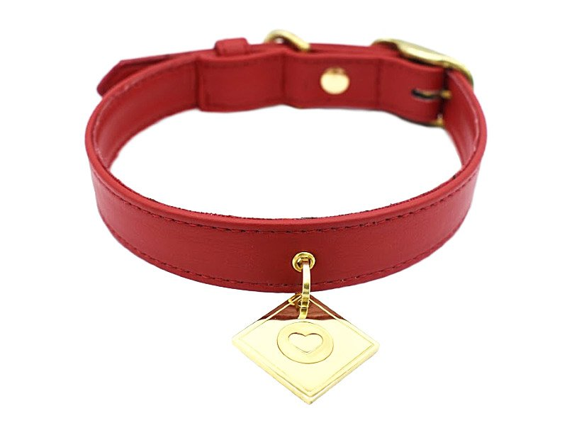 collar red vendome 600