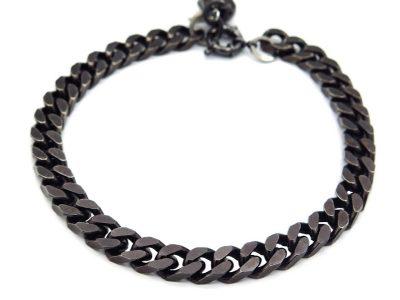 dog black chain