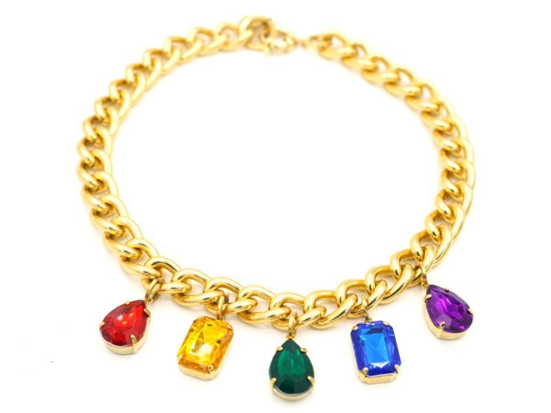 rainbow chain for frenchie